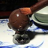 AFGH Mascota del té Mineral Crudo Hecho a Mano Zisha Crafts Office Kung Fu Tea Set Tea Pets