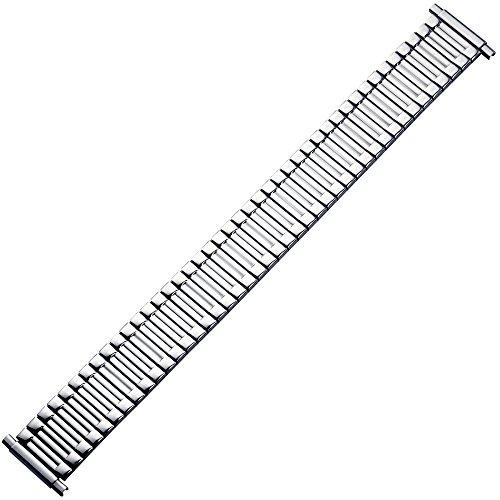 MARBURGER Uhrenarmband 16mm Edelstahl Silber - 88400010020