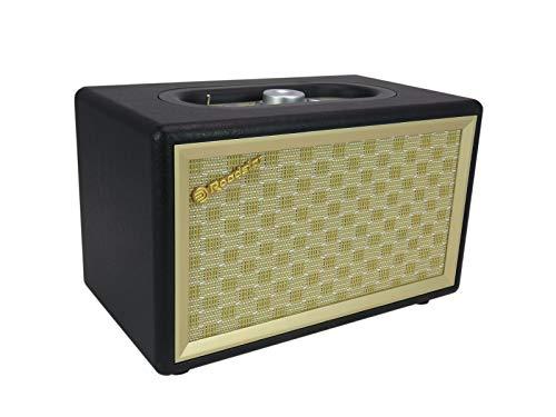 Roadstar HRA-310BT Retro Radio mit Bluetooth (UKW-Radio, 2 x 8 Watt RMS, AUX-In, Netzbetrieb), schwarz
