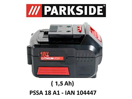 Parkside batería 18V 1,5Ah Pap 18–1.5A1para pssa 18A1–Ian 104447batería Sierra de sable