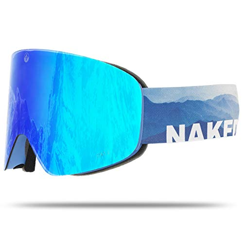 NAKED Optics Troop EVO Misty (Blue Lens), ohne Schlechtwetterglas