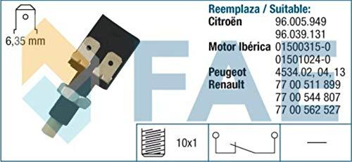 SPECTROMATIC Interruptor de luz de parada 24080 Citroen Peugeot 96039131 7700511899
