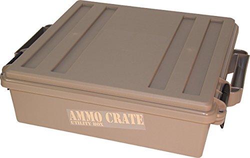 MTM ACR5-72 ACR5 Ammo Crate Utility Box, Brown, Medium