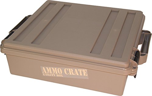 MTM ACR5-72 ACR5 Ammo Crate Utility Box, Brown, Medium