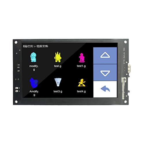 JIJIONG 3d Printer Smart Display Controller/Fit For MK.S TFT70 Touch Screen 3d Printer Parts 7.0 Inch Wifi Wireless Control Preview Gcode (Color : TFT70)