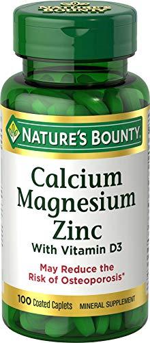 Calcium Magnesium & Zinc by Nature