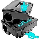 Best Rat Poison Traps - Kat Sense Rat Bait Station Traps, Reusable Humane Review