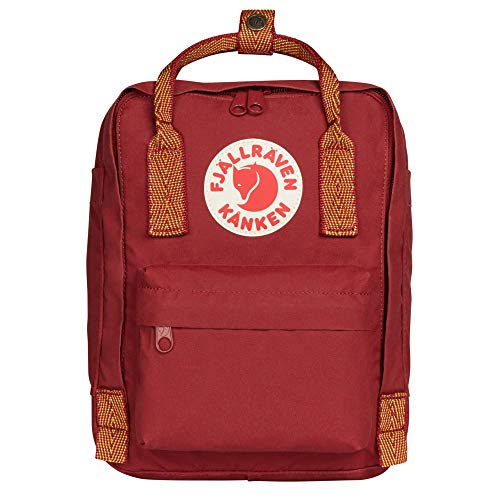 Fjallraven, Kanken Mini Classic Backpack for Everyday, Ox Red/Goose Eye