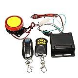 Creely Alarma de seguridad de motocicleta de 12 V y sistema...