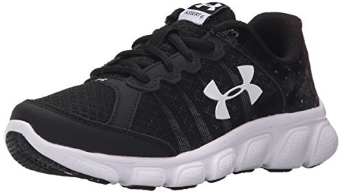 Under Armour Boys' Pre School Assert 6 Shoe Sneaker, Black...
