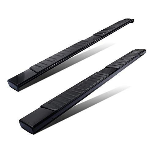 YITAMOTOR 6 inches OE Style Aluminum Running Boards, Nerf Bars, Side Steps Fit for 2007-2018 Chevy Silverado/GMC Sierra 1500 & 2500HD/3500HD Crew Cab (Gas Engine ONLY), Black