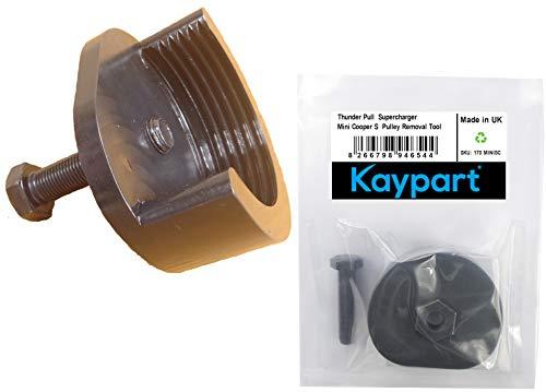 Kaypart Thunder Pull Kompatibel mit dem Mini Cooper S Supercharger Riemenscheiben-Entfernungswerkzeug R53 Super Charger