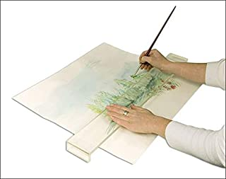 Creative Mark Artist Leaning Bridge Hand and Wrist Leaning Bridge Acrylic Used For Steady Hand Painting, Drawing & Sketching, Transparent, 24 Inch