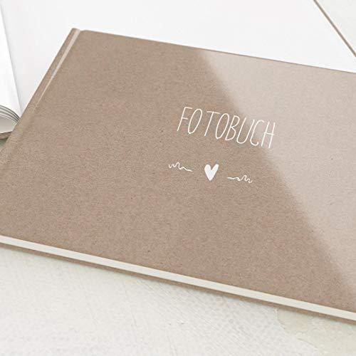 sendmoments Fotoalbum zum Selbstgestalten, Passend, personalisierbar mit eigenem Bild & Text,...