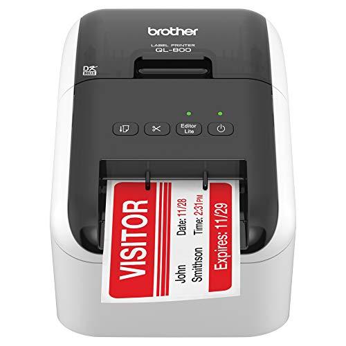 BROTHER RQL-800 -(Q L800) Impresora de Etiquetas Profesional de Alta Velocidad (renovada)