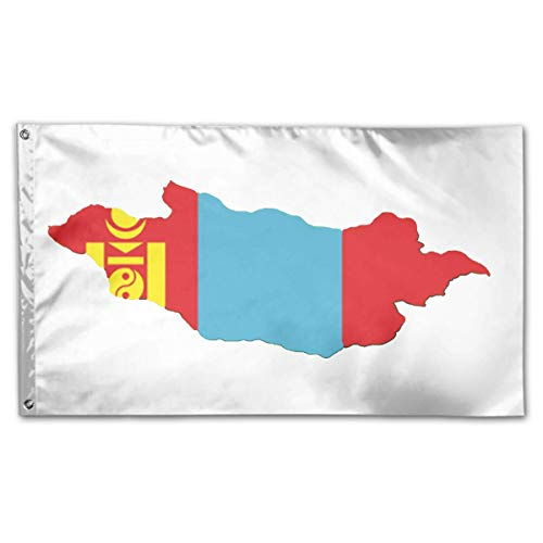 N/A Hanging Flag Dekor,Drinnen Dekoration Flagge,Garten Banner,Wetterfest Fahne,Mongolei Premium Quality Durable Flag Dekor Für Häuser Und Gärten