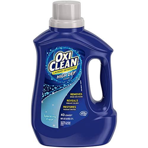 OxiClean High Def Sparkling Fresh Liquid Laundry Detergent 60 oz
