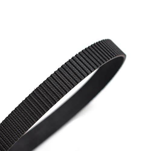 LCuiling-Cinturón sincrónico Cinturón de distribución de bucle cerrado HTD 3M, cinturones de transmisión Perímetro 225 228 255 267 300 324 330 354mm, ancho personalizado 8 9 10 15 17mm Estable y durad