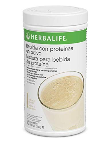 Bebida con Proteínas en Polvo 1 u., sabor a vanilla, 588 g.