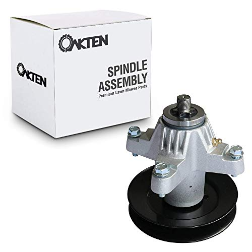 OakTen Replacement Mower Deck Spindle Assembly for Cub Cadet MTD Troy Bilt 918-04125C 918-04126 with Screws (Toro 112-0370)