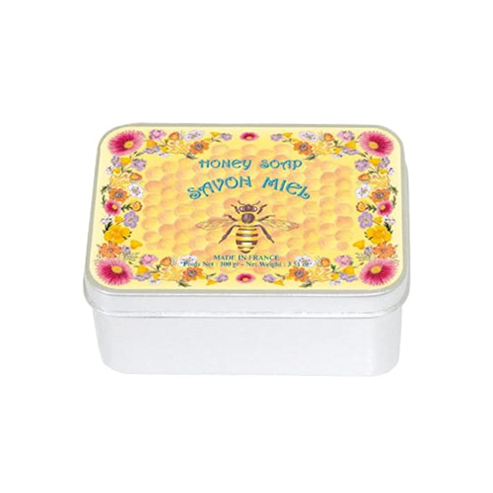 連想衝動明らかにルブランソープ メタルボックス(ハチミツの香り)石鹸
