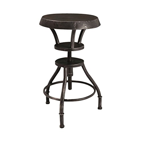 Best Selling Luke Iron Top Adjustable Bar Stool