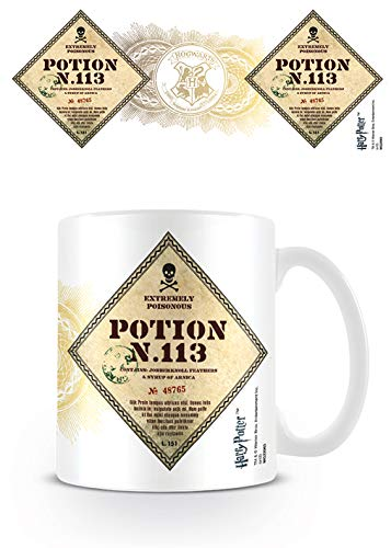 Harry Potter Mok 320 ml Potion No.113, keramiek, meerkleurig, 11 x 12,5 cm