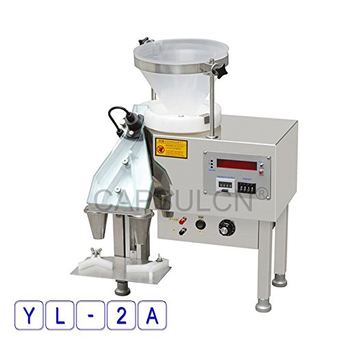 Review Of Automatic Stainless Steel Counting Machine YL-2A, Automatic Capsule/Pills Counter Machine....