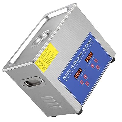 finebrand Schallreinigungsmittel Ps-10a 2l Digital-Edelstahl-Bad Für Schmuck Kleinteil Brillen Chemicals Startseite Silber
