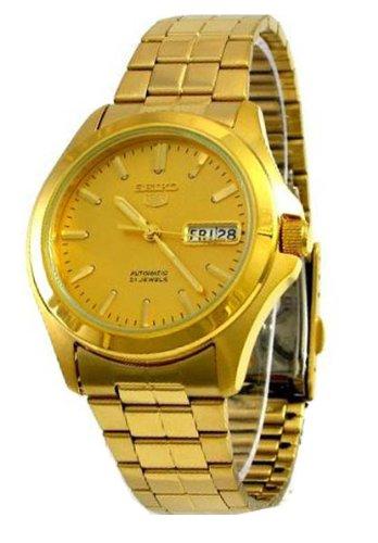 Seiko SNKK98 - Reloj para Hombres, Correa de Acero Inoxidable Color Do