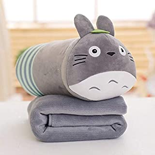 EXTOY 11 Styles Cute Animal Plush Toy with Blanket Kumamon Soft Sleeping Pillow Stuffed Doll Kids Birthday Gift Holiday Must Haves 8 Year Old Girl Gifts The Favourite Anime Superhero Toys UNbox Love