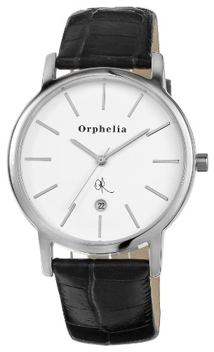 Orphelia Herren-Armbanduhr La duré Analog Quarz Leder