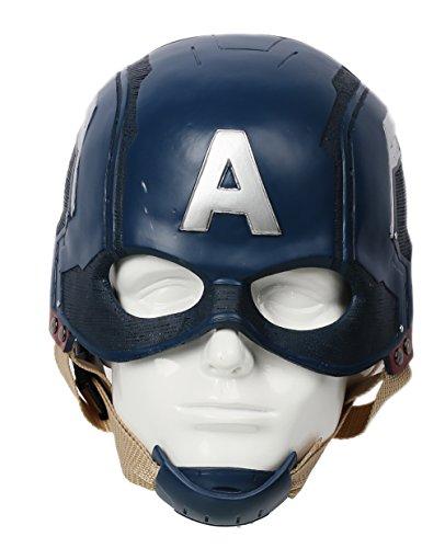 Captain Steven Mask Helmet Men Movie Resin Replica for Halloween Cosplay Costume Props