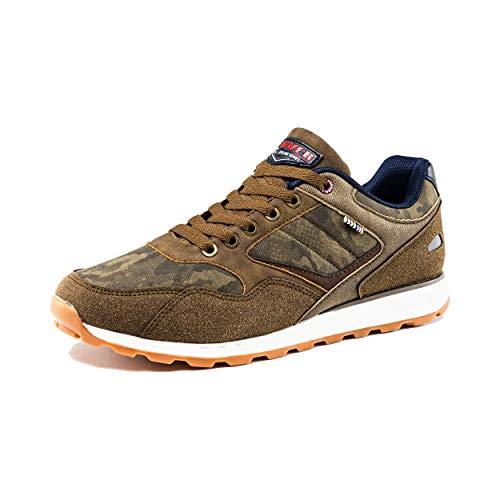 Denver Footwear, Zapatillas de Camuflaje para Hombre, Marrón, 43 EU