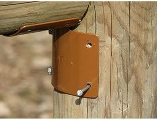 Ram Tough Round Post Fence Brackets 25 ct