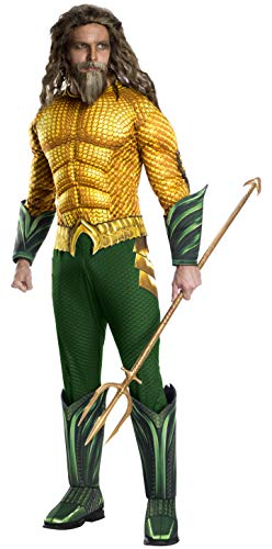 Rubies Disfraz oficial de Aquaman The Movie, para adultos, talla estándar/mediana
