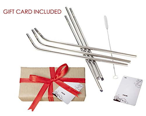 Stainless steel Straws (10.5)