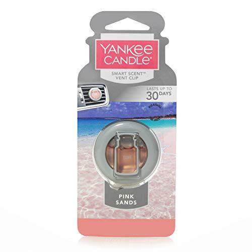 Yankee Candle 1304388E Deodoranti per Auto, Smart Scent Vent Clip, Pink Sands