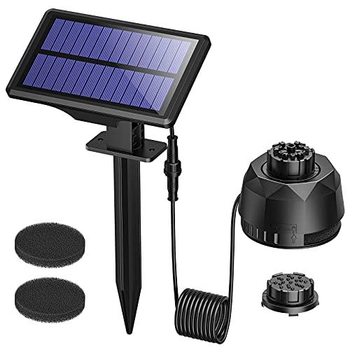OKMEE Solar Water Fountain Pump 2.5W Solar Floating Fountain Pump with 7...