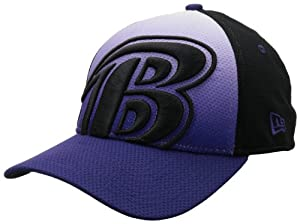 NFL Baltimore Ravens NE Graduation 39Thirty Flex Fit Cap, Small/Medium