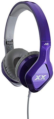 JVC HA-SR100X-V-E - Auriculares de Diadema Cerrados (Control Remoto Integrado, micrófono, Jack...