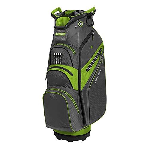Datrek Lite Rider Pro Cart Bag, Charcoal/Lime/Black