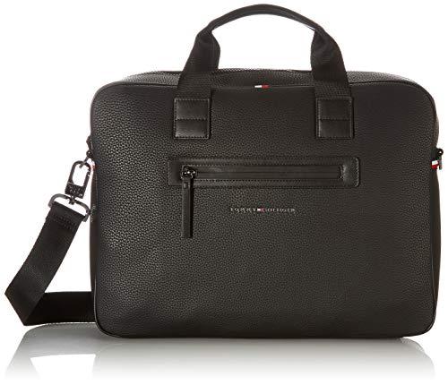 Tommy Hilfiger Herren Essential Tasche, Black, One Size