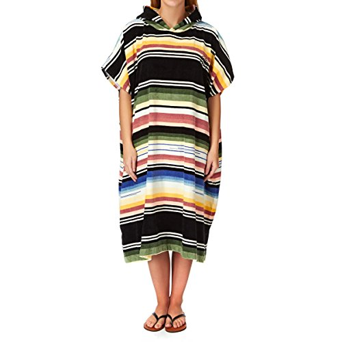 G.S.M. Europe - Billabong Herren Badelaken Salty Hoodie Towel, Serape, One Size