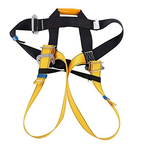 Agatige Klettergurte, Klettergurt Sicherheitsgürtel Gurtband für Herren und Damen Sitzgurt Outdoor Tree Mountaineering Rescue Caving