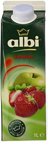 albi Erdbeer - FSG, 6er Pack (6 x 1 l)