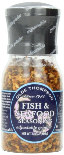 Olde Thompson Fish & Seafood Blend, 5.5-Ounce Grinders (Pack...