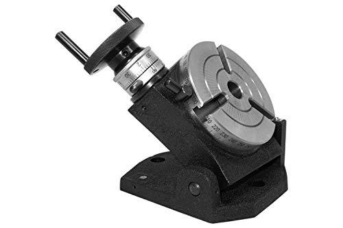 PAULIMOT Teilapparat Rundtisch Ø 105 mm schwenkbar horizontal/vertikal