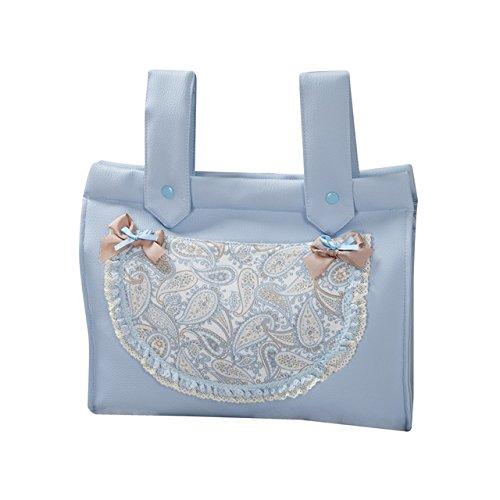 Babyline Karamell–Handtasche Brotkasten für Stuhl blau