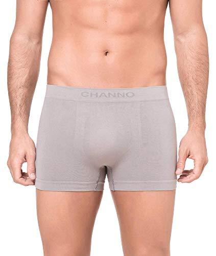 Channo Pack de 4 - Calzoncillos Boxer algodón sin Costura Color Uniforme